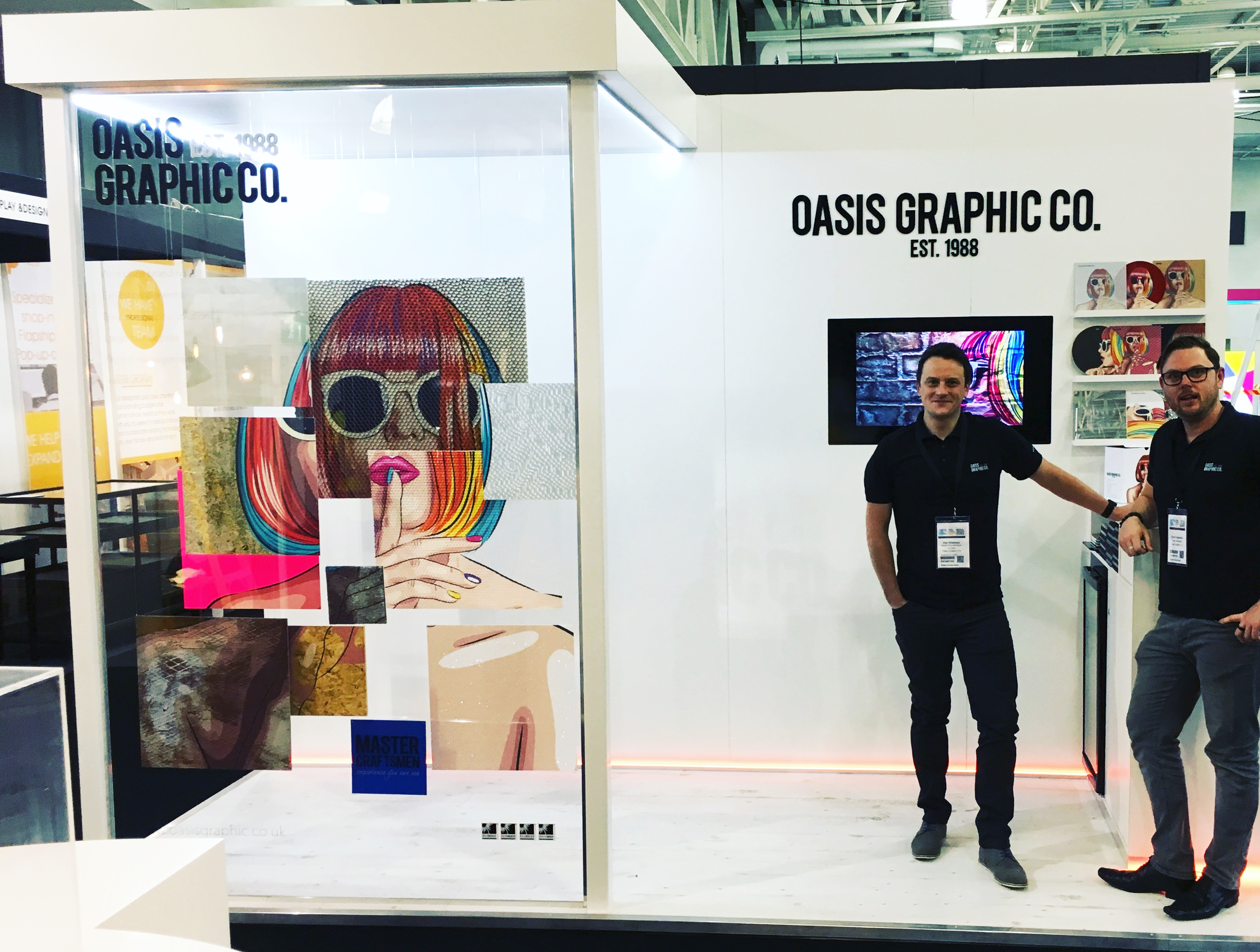 Exhibition Stand Fitter Jobs London : Exhibitions archives oasis